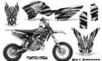 KTM SX50 09 14 Graphics Kit Bolt Thrower White NP Rims 150x90 - KTM SX 50 Adventurer Jr Sr 2009-2015 Graphics
