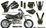 KTM SX50 CreatorX Graphics Kit Bolt Thrower GreenArmy 150x90 - KTM SX 50 Adventurer Jr Sr 2002-2008 Graphics