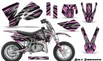 KTM SX50 CreatorX Graphics Kit Bolt Thrower PinkLite 150x90 - KTM SX 50 Adventurer Jr Sr 2002-2008 Graphics