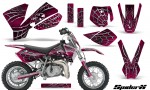 KTM SX50 CreatorX Graphics Kit SpiderX Pink 150x90 - KTM SX 50 Adventurer Jr Sr 2002-2008 Graphics