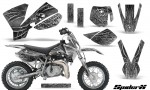 KTM SX50 CreatorX Graphics Kit SpiderX White 150x90 - KTM SX 50 Adventurer Jr Sr 2002-2008 Graphics