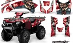 Kawasaki Bruteforce 750 AMR Graphics Kit Madhatter Red 150x90 - Kawasaki Brute Force 650i 2006-2012 Graphics
