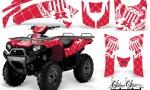Kawasaki Bruteforce 750 AMR Graphics Kit Reloaded White Red 150x90 - Kawasaki Brute Force 650i 2006-2012 Graphics