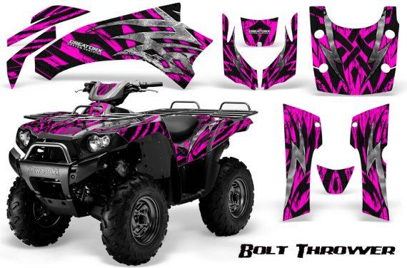 Kawasaki Bruteforce 750 CreatorX Graphics Kit Bolt Thrower Pink 570x376 - Kawasaki Brute Force 650i 2006-2012 Graphics