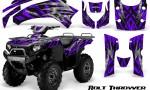 Kawasaki Bruteforce 750 CreatorX Graphics Kit Bolt Thrower Purple 150x90 - Kawasaki Brute Force 650i 2006-2012 Graphics