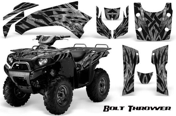 Kawasaki Bruteforce 750 CreatorX Graphics Kit Bolt Thrower Silver 570x376 - Kawasaki Brute Force 650i 2006-2012 Graphics