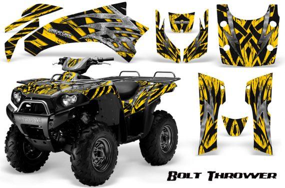 Kawasaki Bruteforce 750 CreatorX Graphics Kit Bolt Thrower Yellow 570x376 - Kawasaki Brute Force 650i 2006-2012 Graphics