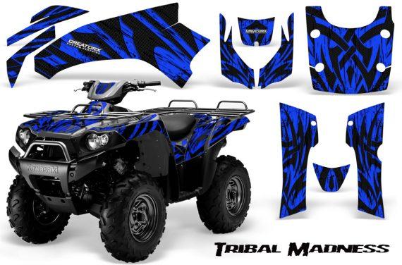 Kawasaki Bruteforce 750 CreatorX Graphics Kit Tribal Madness Blue 570x376 - Kawasaki Brute Force 650i 2006-2012 Graphics