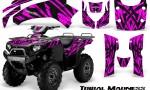 Kawasaki Bruteforce 750 CreatorX Graphics Kit Tribal Madness Pink 150x90 - Kawasaki Brute Force 650i 2006-2012 Graphics