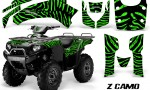 Kawasaki Bruteforce 750 CreatorX Graphics Kit ZCamo Green 150x90 - Kawasaki Brute Force 650i 2006-2012 Graphics