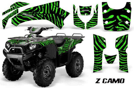 Kawasaki Bruteforce 750 CreatorX Graphics Kit ZCamo Green 570x376 - Kawasaki Brute Force 650i 2006-2012 Graphics