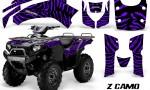 Kawasaki Bruteforce 750 CreatorX Graphics Kit ZCamo Purple 150x90 - Kawasaki Brute Force 650i 2006-2012 Graphics
