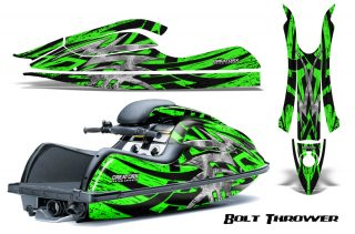 Kawasaki JetSki SX R800 CreatorX Graphics Kit Bolt Thrower Green 320x211 - Kawasaki 800 SX-R Jet Ski 2003-2012 Graphics
