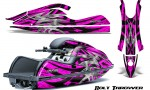 Kawasaki JetSki SX R800 CreatorX Graphics Kit Bolt Thrower Pink 150x90 - Kawasaki 800 SX-R Jet Ski 2003-2012 Graphics