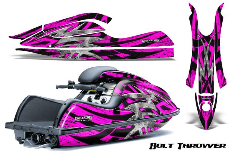 Kawasaki-JetSki-SX-R800-CreatorX-Graphics-Kit-Bolt-Thrower-Pink