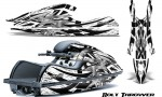 Kawasaki JetSki SX R800 CreatorX Graphics Kit Bolt Thrower White 150x90 - Kawasaki 800 SX-R Jet Ski 2003-2012 Graphics