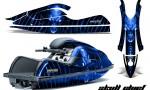 Kawasaki JetSki SX R800 CreatorX Graphics Kit Skull Chief Blue 150x90 - Kawasaki 800 SX-R Jet Ski 2003-2012 Graphics