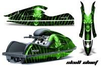 Kawasaki-JetSki-SX-R800-CreatorX-Graphics-Kit-Skull-Chief-Green
