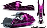 Kawasaki JetSki SX R800 CreatorX Graphics Kit Skull Chief Pink 150x90 - Kawasaki 800 SX-R Jet Ski 2003-2012 Graphics