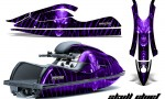 Kawasaki JetSki SX R800 CreatorX Graphics Kit Skull Chief Purple 150x90 - Kawasaki 800 SX-R Jet Ski 2003-2012 Graphics