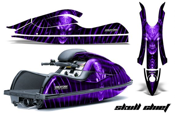 Kawasaki JetSki SX R800 CreatorX Graphics Kit Skull Chief Purple 570x376 - Kawasaki 800 SX-R Jet Ski 2003-2012 Graphics