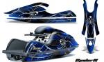 Kawasaki JetSki SX R800 CreatorX Graphics Kit SpiderX Blue 150x90 - Kawasaki 800 SX-R Jet Ski 2003-2012 Graphics