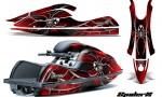 Kawasaki JetSki SX R800 CreatorX Graphics Kit SpiderX Red 150x90 - Kawasaki 800 SX-R Jet Ski 2003-2012 Graphics