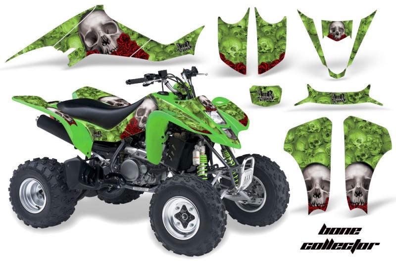 Kawasaki-KFX-400-03-08-AMR-Graphics-Bones-Green