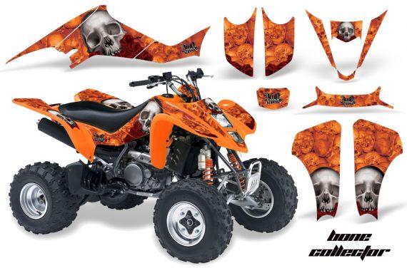 Kawasaki KFX 400 03 08 AMR Graphics Bones Orange 570x376 - Kawasaki KFX 400 Graphics