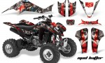 Kawasaki KFX 400 03 08 AMR Graphics MadHatter SilverRedstripe 150x90 - Kawasaki KFX 400 Graphics