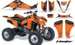 Kawasaki KFX 400 03 08 AMR Graphics TBomber Orange 150x90 - Kawasaki KFX 400 Graphics