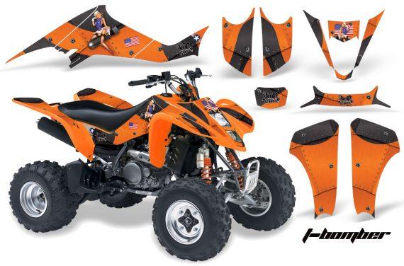 Kawasaki KFX 400 03 08 AMR Graphics TBomber Orange 570x376 - Kawasaki KFX 400 Graphics
