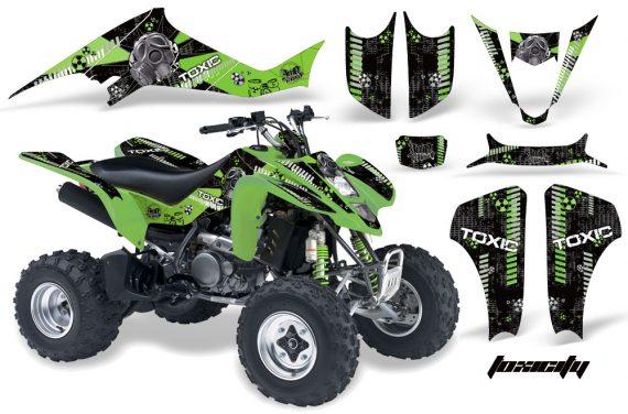 Kawasaki KFX 400 03 08 AMR Graphics Toxicity GreenBlackBG 570x376 - Kawasaki KFX 400 Graphics