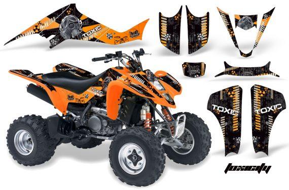 Kawasaki KFX 400 03 08 AMR Graphics Toxicity OrangeBlackBG 570x376 - Kawasaki KFX 400 Graphics