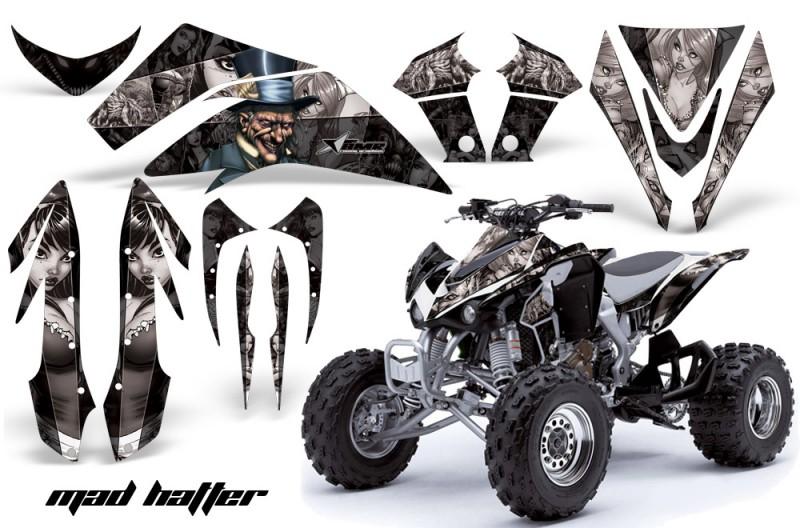 Kawasaki-KFX-450-AMR-Graphic-Kit-MadHatter-BLACK-SILVERSTRIPE-INSTALL