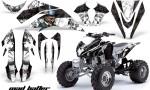 Kawasaki KFX 450 AMR Graphic Kit MadHatter Black whitestripe INSTALL 150x90 - Kawasaki KFX 450 Graphics