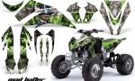 Kawasaki KFX 450 AMR Graphic Kit MadHatter GREEN blackstripe INSTALL 150x90 - Kawasaki KFX 450 Graphics