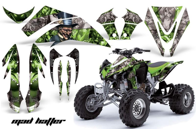 Kawasaki-KFX-450-AMR-Graphic-Kit-MadHatter-GREEN-blackstripe-INSTALL