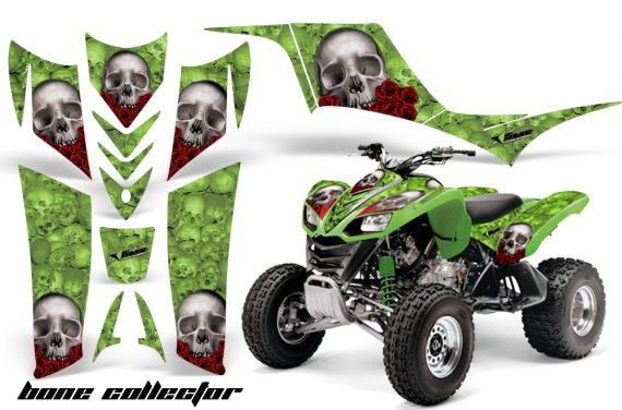 Kawasaki KFX 700 AMR Graphic Kit BoneCollector Green 570x376 - Kawasaki KFX 700 Graphics