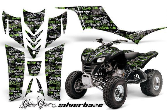 Kawasaki KFX 700 AMR Graphic Kit Silverhaze GreenBLKBG 570x376 - Kawasaki KFX 700 Graphics