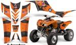 Kawasaki KFX 700 AMR Graphic Kit TBomber Orange 150x90 - Kawasaki KFX 700 Graphics
