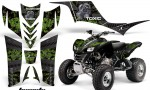Kawasaki KFX 700 AMR Graphic Kit Toxicity Green 150x90 - Kawasaki KFX 700 Graphics