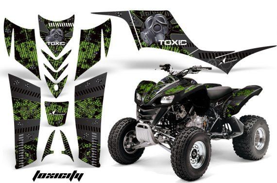 Kawasaki KFX 700 AMR Graphic Kit Toxicity Green 570x376 - Kawasaki KFX 700 Graphics