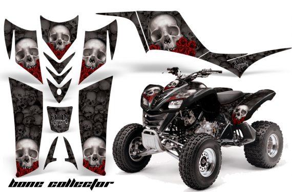 Kawasaki KFX 700 AMR Graphic Kit bonecollector black 570x376 - Kawasaki KFX 700 Graphics