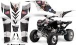 Kawasaki KFX 700 AMR Graphic Kit tbomber black 150x90 - Kawasaki KFX 700 Graphics