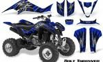 Kawasaki KFX400 03 08 CreatorX Graphics Kit Bolt Thrower Blue BB 150x90 - Kawasaki KFX 400 Graphics