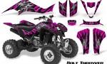 Kawasaki KFX400 03 08 CreatorX Graphics Kit Bolt Thrower Pink BB 150x90 - Kawasaki KFX 400 Graphics