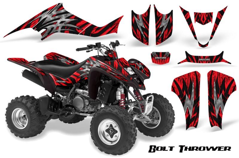 Kawasaki-KFX400-03-08-CreatorX-Graphics-Kit-Bolt-Thrower-Red-BB