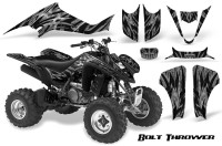 Kawasaki-KFX400-03-08-CreatorX-Graphics-Kit-Bolt-Thrower-Silver-BB