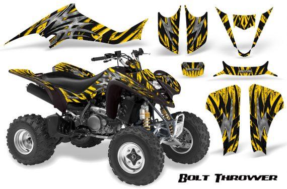 Kawasaki KFX400 03 08 CreatorX Graphics Kit Bolt Thrower Yellow BB 570x376 - Kawasaki KFX 400 Graphics